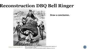 Reconstruction DBQ Bell Ringers