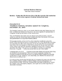 Reconstruction DBQ for AP United States History APUSH