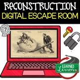 Reconstruction Digital Escape Room, Reconstruction Breakout Room, Test Prep