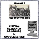 Reconstruction Digital Research Brochure