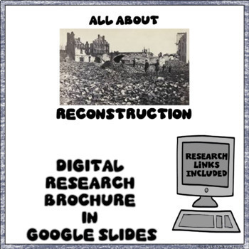 Reconstruction Digital Research Brochure in Google Slides™