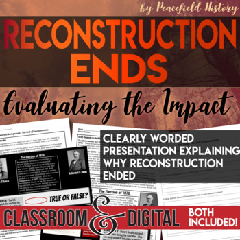Reconstruction Ends Students Assess Why Reconstruction Ended