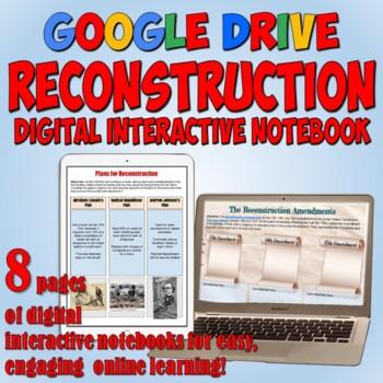 Reconstruction Era Google Drive Interactive Notebook