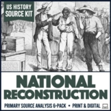 Reconstruction Primary Sources Activities 6-Pack