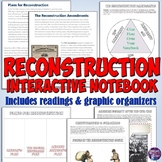 Reconstruction Era Interactive Notebook