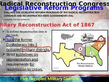 Reconstruction Era, STAAR Powerpoint Lecture