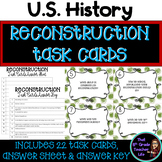 Reconstruction Era Task Cards