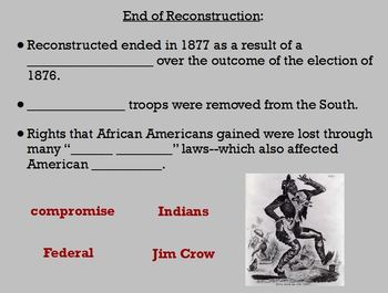 Reconstruction Guided Notes Flipchart