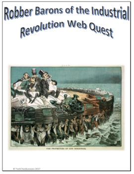 Reconstruction Industrial Robber Barons Webquest