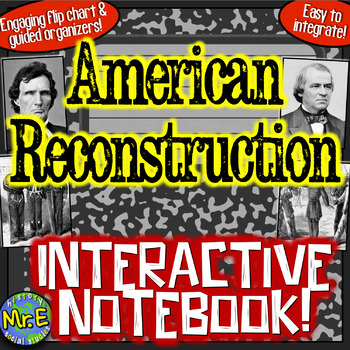 Reconstruction Interactive Notebook! Engaging Resource on