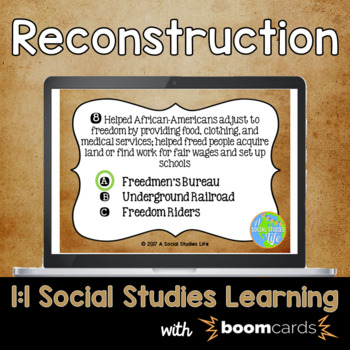 Reconstruction Interactive Task Cards