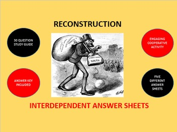 Reconstruction: Interdependent Answer Sheets Activity