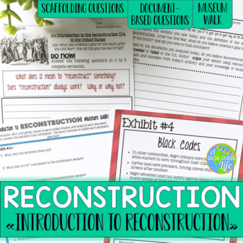Reconstruction Introduction Lesson