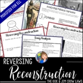 Reconstruction KKK and Jim Crow Laws