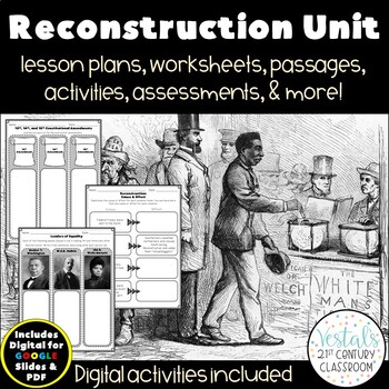 Reconstruction & Life After {Digital & PDF Included}