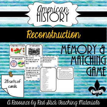 Reconstruction Memory/ Matching Game