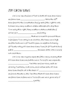 Reconstruction Note Sheets (Virginia Studies 8abc)