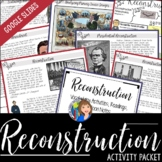 Reconstruction Packet for Distance Learning and Google Drive