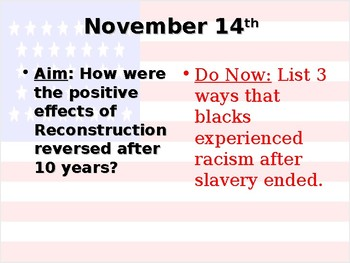 Reconstruction Part 3 PowerPoint