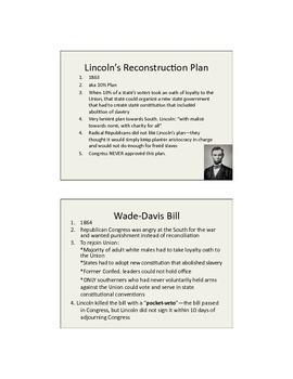 Reconstruction Plan Comparison