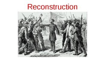 Reconstruction Plans Presentation