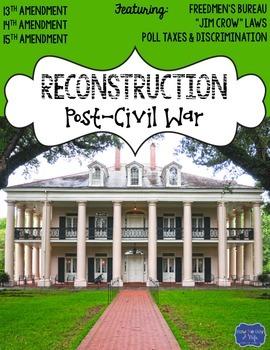Reconstruction Post Civil War Assessment