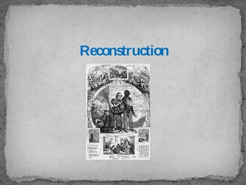Reconstruction Power Point - 2
