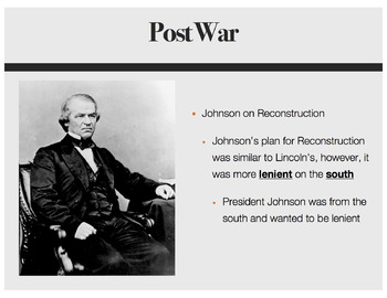 Reconstruction PowerPoint