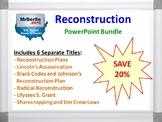 Reconstruction PowerPoint Bundle