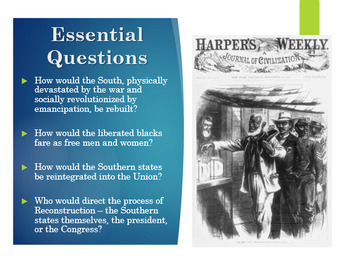 Reconstruction PowerPoint and Notes