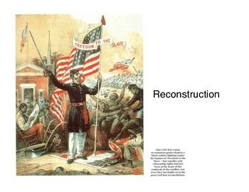 Reconstruction (Presentation)