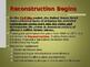 Reconstruction - Rebuliding A Nation