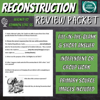 Reconstruction Review Packet