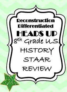 Reconstruction  STAAR Review Game