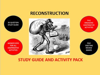 Reconstruction: Study Guide and Activity Pack