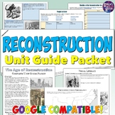 Reconstruction Study Guide and Unit Packet