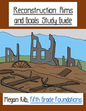 Reconstruction Study Guides