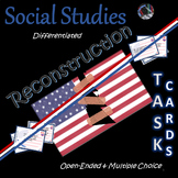 Reconstruction~Task Cards~Social Studies Weekly