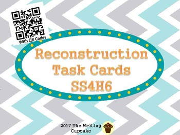 Reconstruction Task Cards with QR Codes
