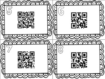 Reconstruction Task Cards with QR Codes (GMAS:  SS4H6)