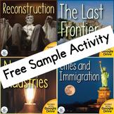 Reconstruction US History Unit Freedmen's Bureau Sample Activity