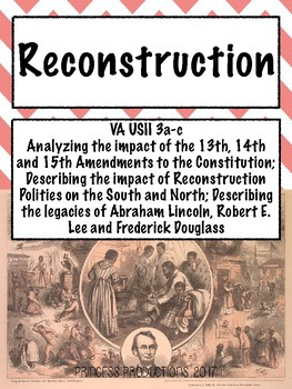 Reconstruction - US History from 1865 to Present Cornell Notes