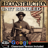 Reconstruction Unit Bundled! - Primary Source Activities, PPTs, Lesson Plans