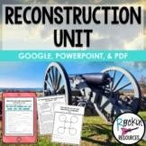 Reconstruction Unit | Reconstruction Activities | Distance