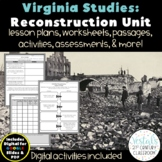Reconstruction: Virginia Studies VS.8 {Digital & PDF Included}
