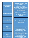 Reconstruction Vocabulary Sort