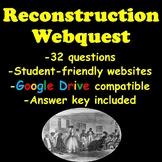 Reconstruction Webquest