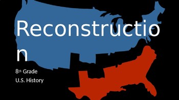 Reconstruction after the Civil War Part 1