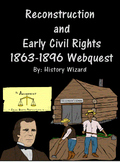 Reconstruction and Early Civil Rights 1863-1896 Webquest