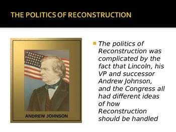 Reconstruction and its Effects Power Point